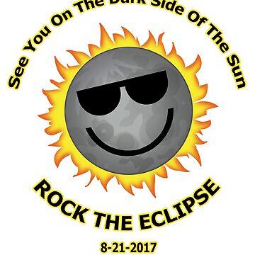 Dark Side Of Sun Eclipse by ecliptomaniac