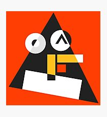 Abstract Tux Pyramid Avatar  Photographic Print