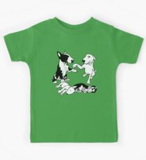English Bull Terrier Family  Kids Tee
