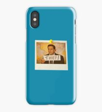 The Office - Michael Scott Funny Thief Photo - Graphic Design iPhone Case/Skin