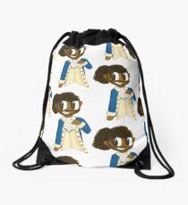 Chibi Lafayette Hamilton Musical Fanart Drawstring Bag
