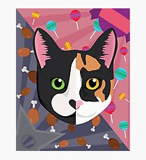 Cat Commission Photographic Print