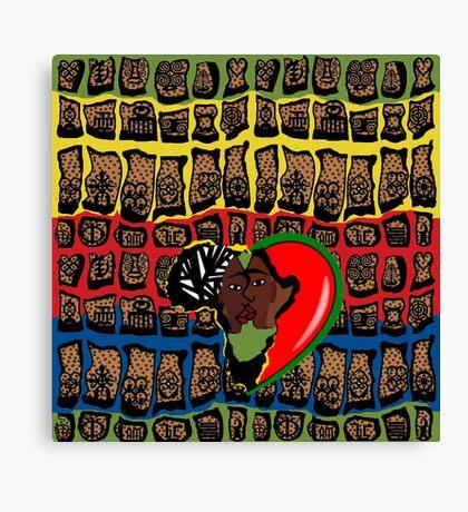 I Am Wakanda Canvas Print