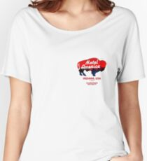 motel americana Women's Relaxed Fit T-Shirt