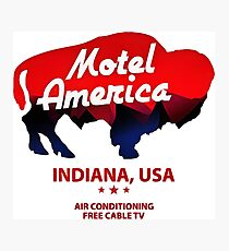 motel americana Photographic Print