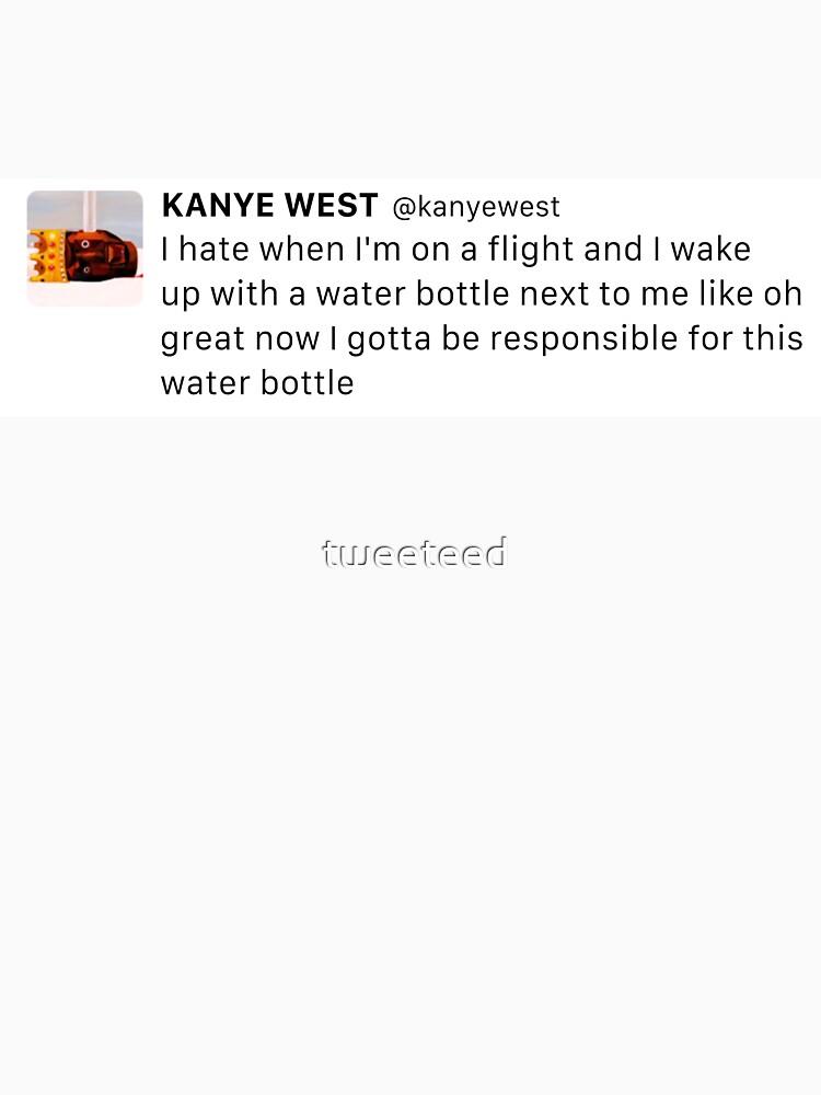 Verantwortlich für diese Wasserflasche KW Tweet von tweeteed