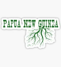 Papua New Guinea Roots Sticker