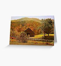 Rural Appalachia  Greeting Card