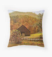 Rural Appalachia  Throw Pillow