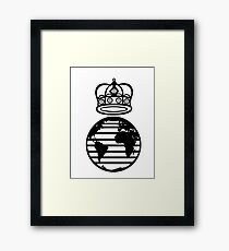 King of the World Framed Print