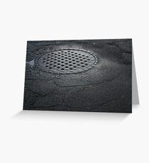 Sewer Greeting Card