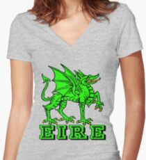 EIRE Women's Fitted V-Neck T-Shirt