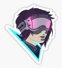 Futuristic Goggles Sticker
