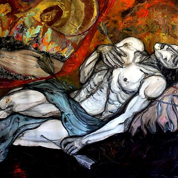 SAINT SEBASTIAN MARTYRDOM-copyright protected by cabanbrizzie