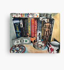 My Bookshelf Canvas Print