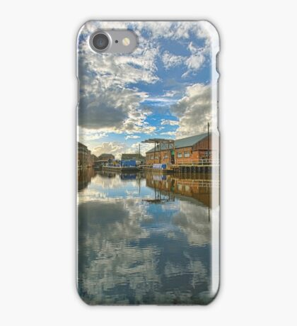 Newark - Trent reflections. iPhone Case/Skin