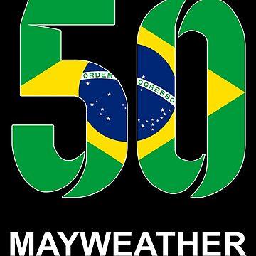 Mayweather 50 (BRAZIL) by Apparellel