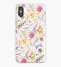 Scattered Summer Bouquet iPhone Case/Skin