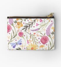 Scattered Summer Bouquet Studio Pouch