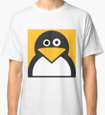 Confused Penguin Classic T-Shirt