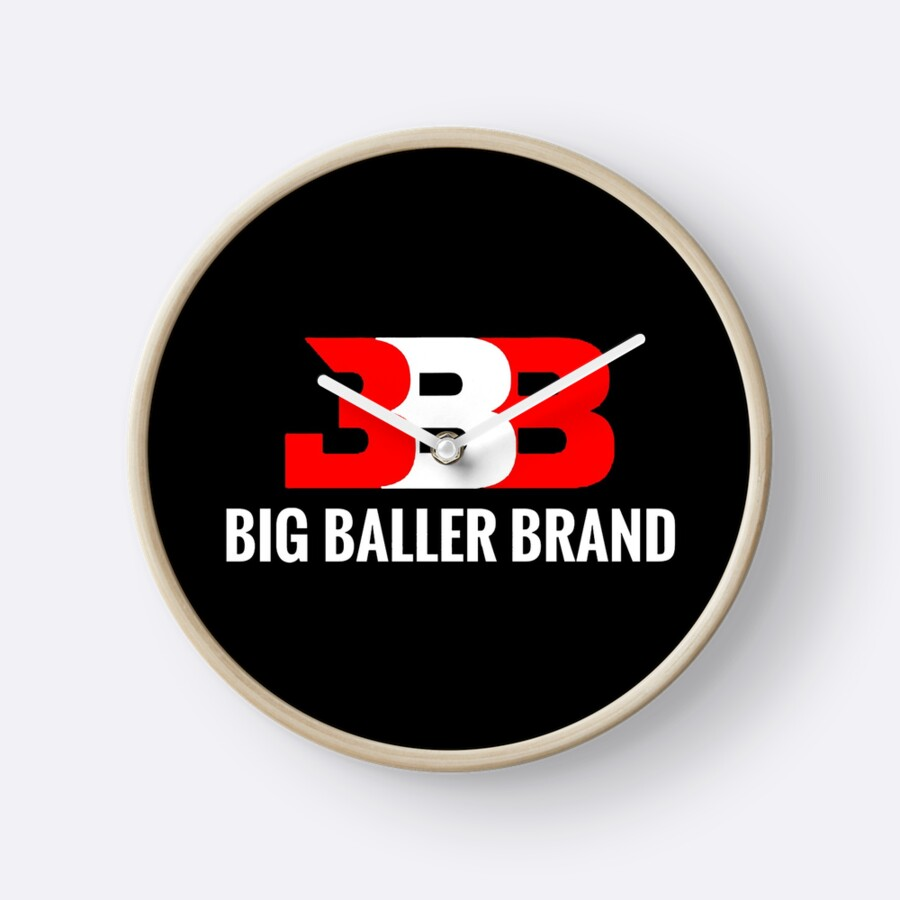 """big baller brand"" Clocks by comeonskinny"