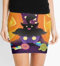 Shiny Pumpkaboo Mini Skirt