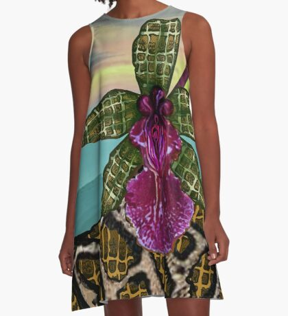 Sunset  A-Line Dress