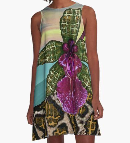 Sunset  A-Line Dress