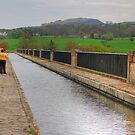 Union Canal at Avon Aquaduct by Tom Gomez