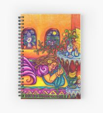 Lucid Dream from Joy and Sorrow Oracle.  Spiral Notebook