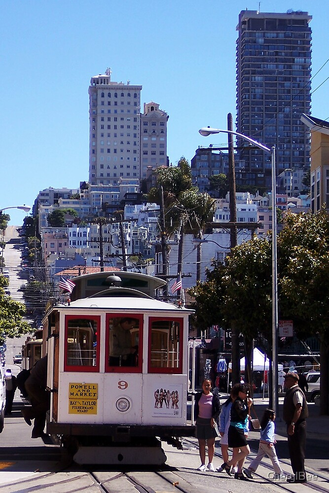 Cable Car in S.F. by CherylBee