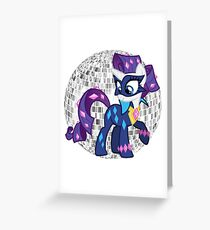 power ponies radiance Greeting Card