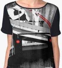 Stop The Freeway Overpass Scales Madness! Chiffon Top