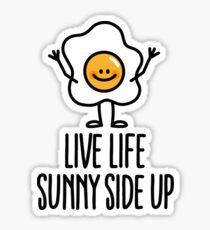 Pegatina Live life sunny side up