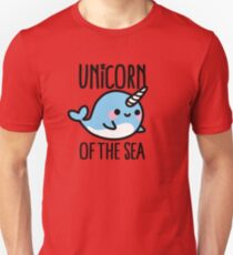 Unicorn of the sea Unisex T-Shirt