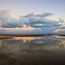 A walk on the beach by Greta van der Rol
