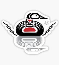 Makwa - Loon Sticker