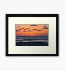 Cuban Sunset (Cuba) Framed Print