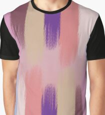 Pained Colorful Streaks 3 Graphic T-Shirt