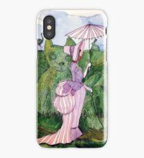 Wednesday in the Garden iPhone Case