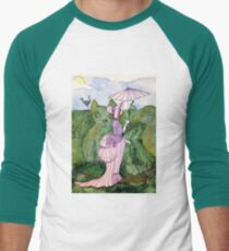 Wednesday in the Garden Men's Baseball ¾ T-Shirt