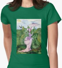 Wednesday in the Garden Women's Fitted T-Shirt