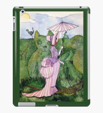 Wednesday in the Garden iPad Case/Skin