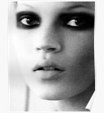 Kate Moss is the boss... Poster