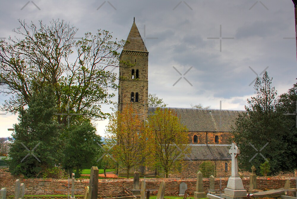Carriden Church Tower by Tom Gomez