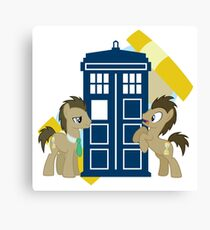 my little pony dr whooves Canvas Print