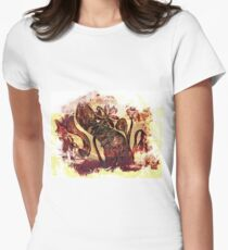 Rusty flowers Women's Fitted T-Shirt