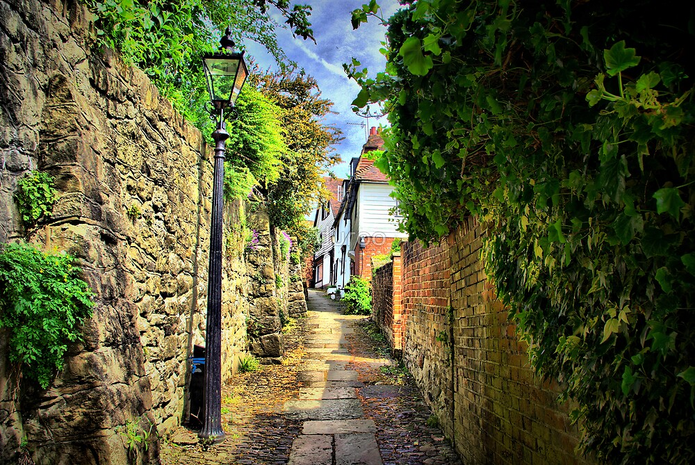Six Bells Lane by duroo