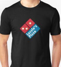 Laszlo's Pizza (gold) T-Shirt