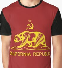 California Communist - Cali Commie Graphic T-Shirt